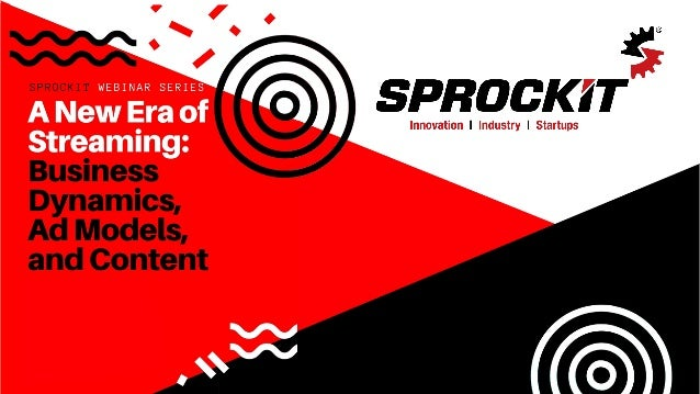 Sprockit's Thought Leader Webinar Series A regular series of Webinars sponsored by Sprockit, and produced by the best thou...