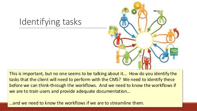 Identifying tasks This is important, but no one seems to be talking about it… How do you identify the tasks that the clien...