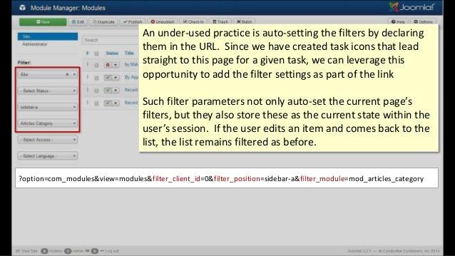 ?option=com_modules&view=modules&filter_client_id=0&filter_position=sidebar-a&filter_module=mod_articles_category An under...