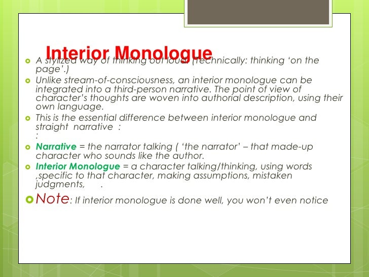 lady macbeth interior monologue Interior monologue on lady macbeth essay 755 words jul 12th, 2005 4 pages  first came the pride, an overwhelming sense of achievement,.