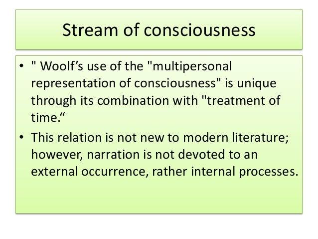stream of consciousness in literature