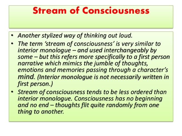stream of consciousness essay