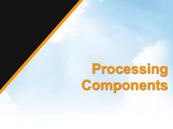 ProcessingComponents
