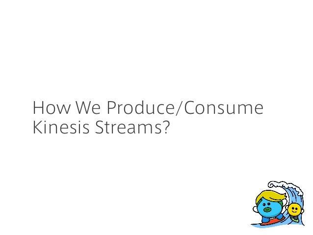 How We Produce/Consume Kinesis Streams?
