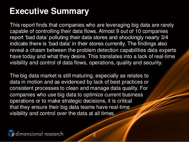 Bad Data is Polluting Big Data Slide 2