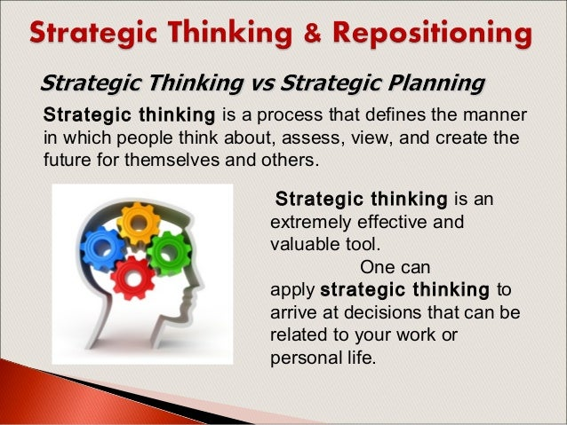 the nine schools of strategic thinking 6 habits of true strategic thinkers you're the boss, but you still spend too much time on the day-to-day here's how to become the strategic leader your company.