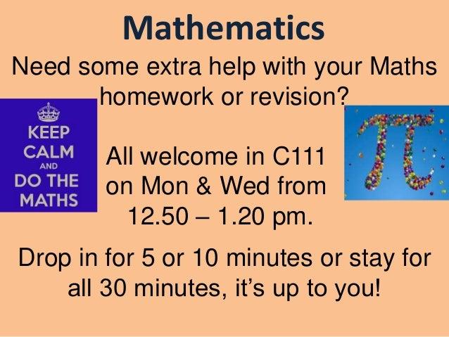 maths homework duncanrig