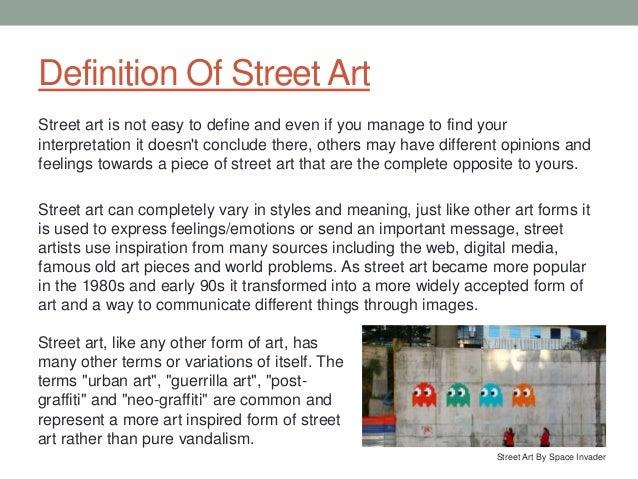 Definition Of Art Essay  Romefontanacountryinncom Essay Art Street Art Essay International Art English Triple Canopy
