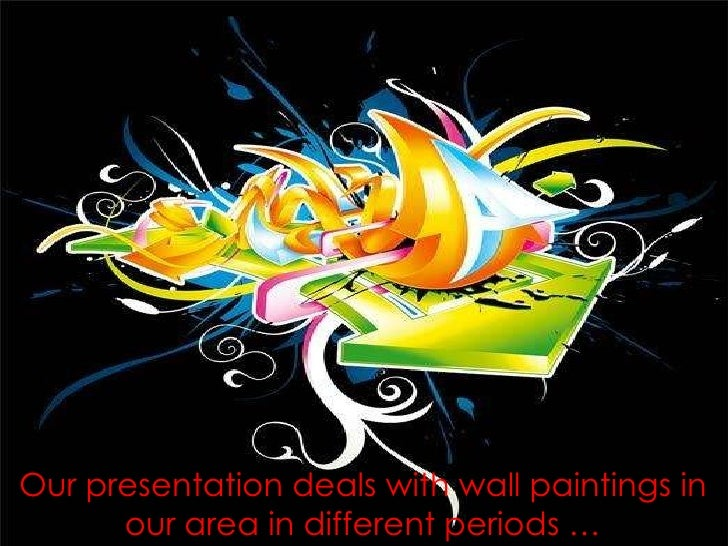 Our presentation deals with wall paintings in our area in different periods …