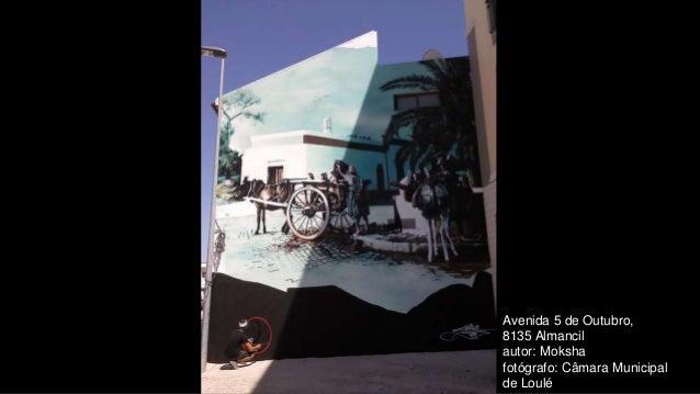 Avenida 5 de Outubro, 8135 Almancil autor: Moksha fotógrafo: Câmara Municipal de Loulé