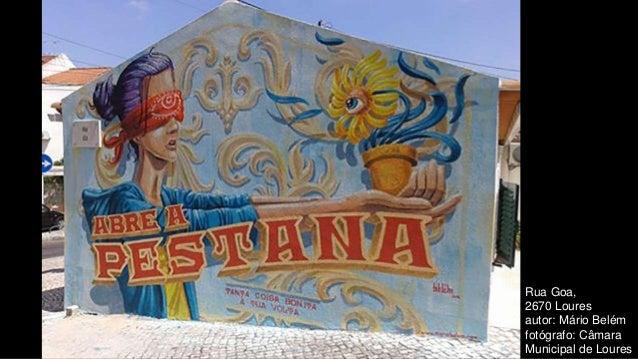 Rua Goa, 2670 Loures autor: Mário Belém fotógrafo: Câmara Municipal de Loures
