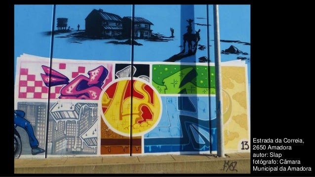 Estrada da Correia, 2650 Amadora autor: Slap fotógrafo: Câmara Municipal da Amadora