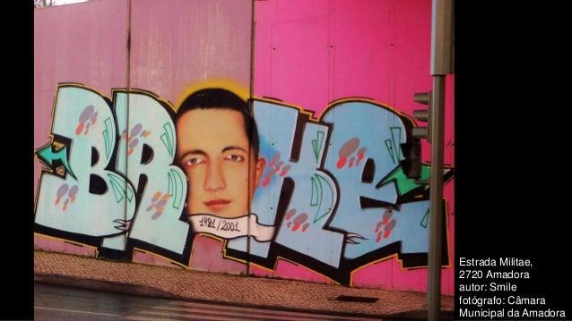 Estrada Militae, 2720 Amadora autor: Smile fotógrafo: Câmara Municipal da Amadora