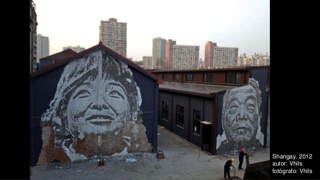 Shangay, 2012 autor: Vhils fotógrafo: Vhils