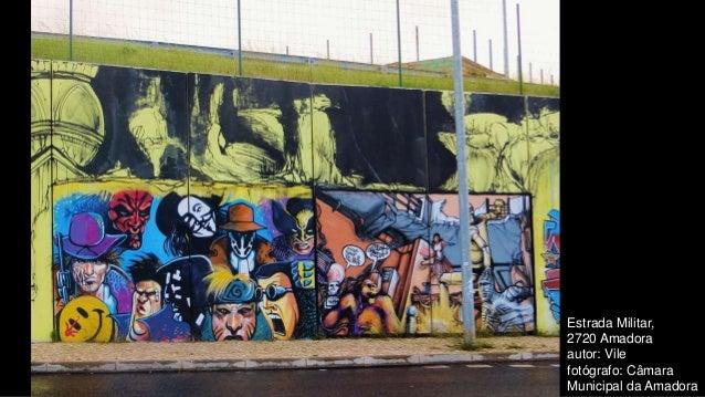 Estrada Militar, 2720 Amadora autor: Vile fotógrafo: Câmara Municipal da Amadora