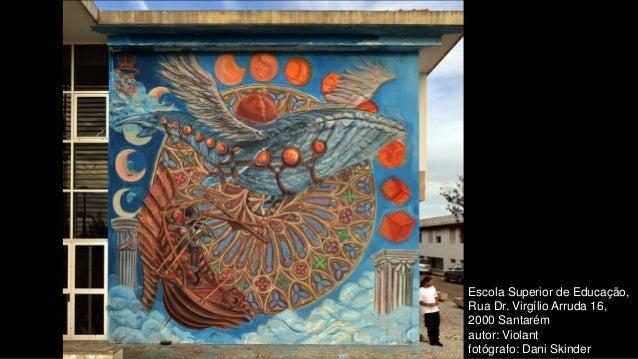Escola Superior de Educação, Rua Dr. Virgílio Arruda 16, 2000 Santarém autor: Violant fotógrafo: Dani Skinder