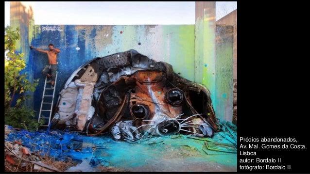 Prédios abandonados, Av. Mal. Gomes da Costa, Lisboa autor: Bordalo II fotógrafo: Bordalo II