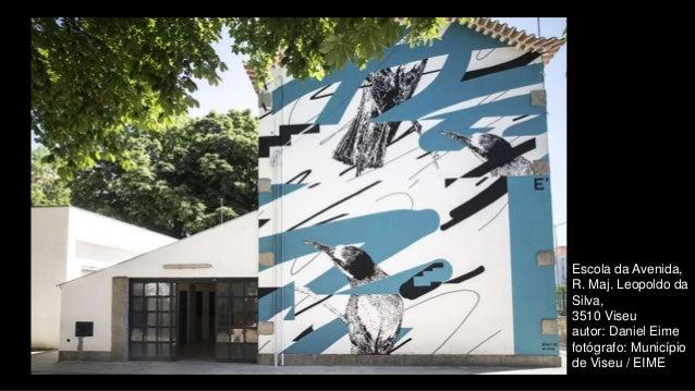 Escola da Avenida, R. Maj. Leopoldo da Silva, 3510 Viseu autor: Daniel Eime fotógrafo: Município de Viseu / EIME