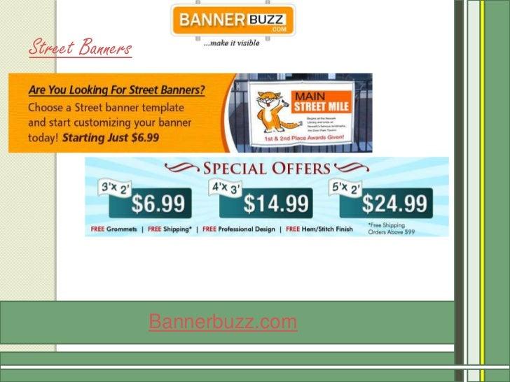 Street Banners                 Bannerbuzz.com
