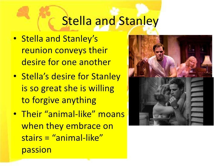 Essay/Term paper: Comparison and contrast: stanley from a street car named desire