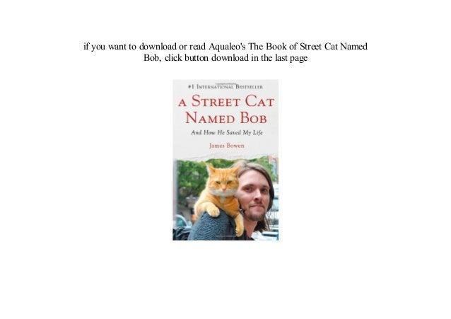 a street cat named bob pdf free download