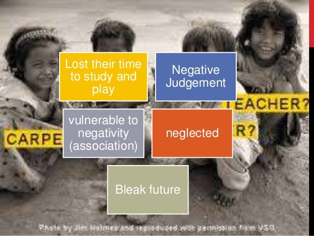 what are the causes of street children