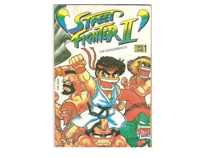 [HQ Nacional] Street Fighter II   Ano I - Número 1 - parte 1 Slide 1