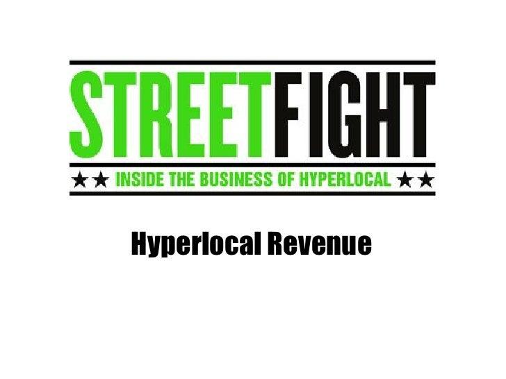 Hyperlocal Revenue
