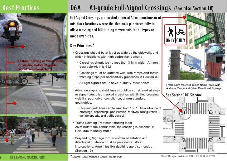 Street Furniture Design Guidelines street design guidelines uttipec 2011-printer-friendly