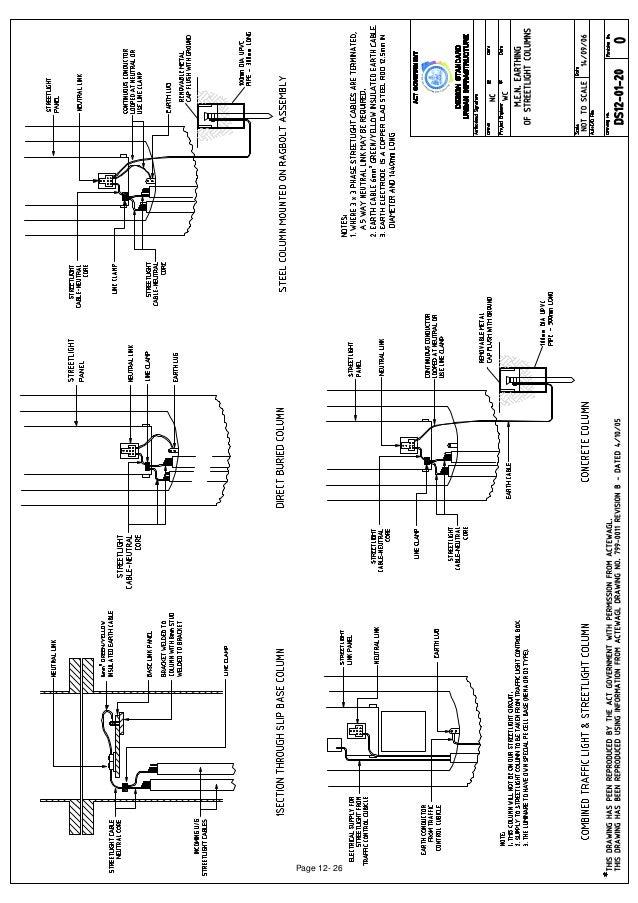 Street lighting section_12_drawings