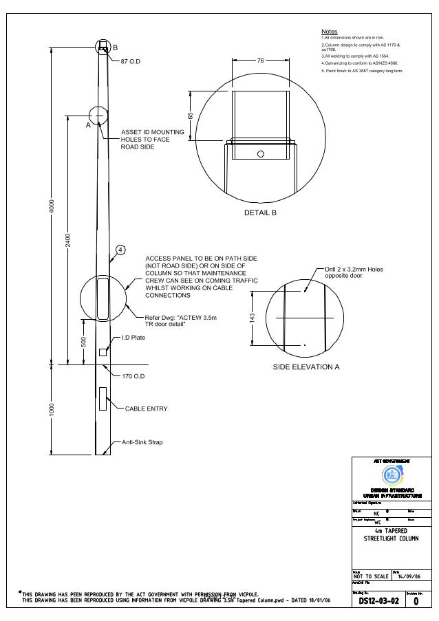 Street Lighting Section12drawings