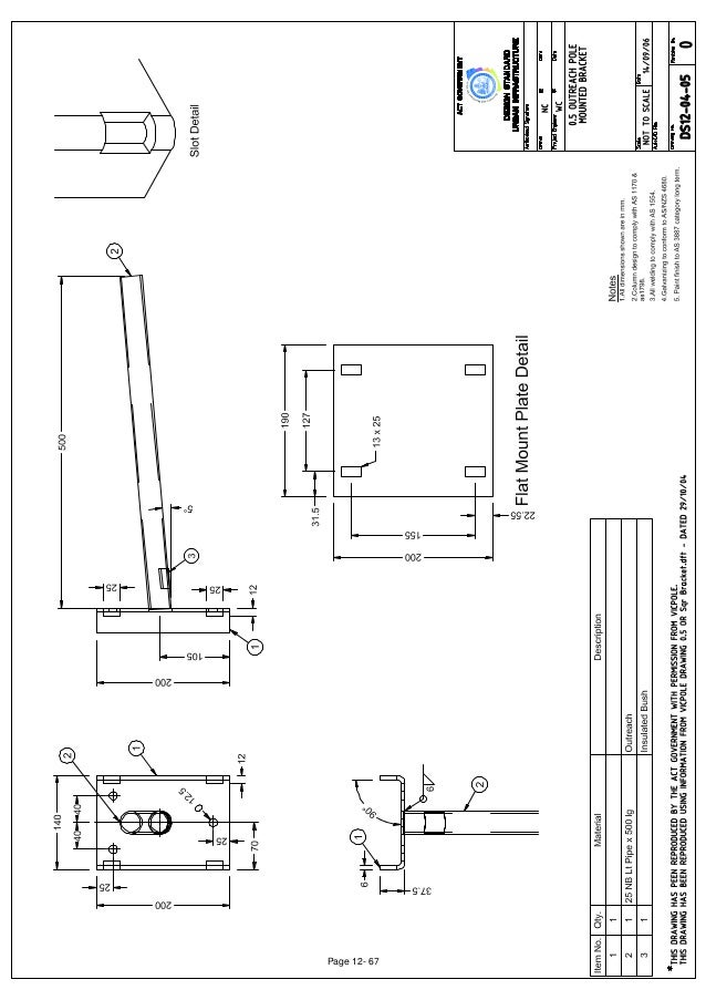 Street lighting section_12_drawings