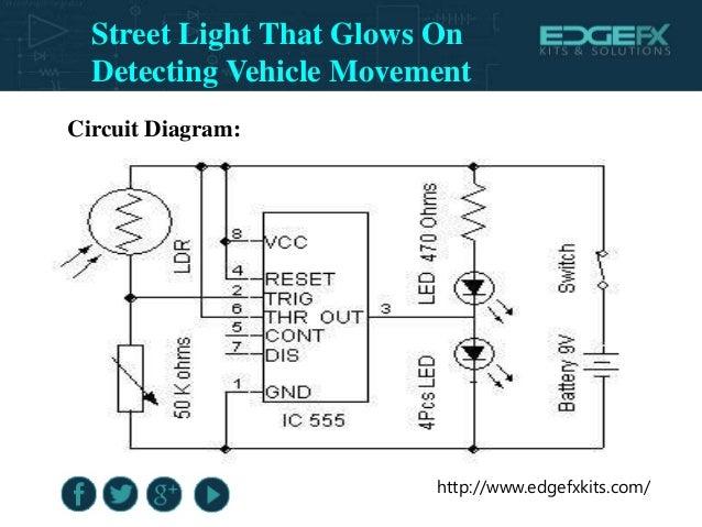Circuit Diagram Of Automatic Street Light   Circuit Diagram Of Smart Street Lighting System Diy Enthusiasts