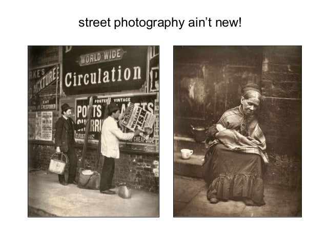 street photography ain't new!