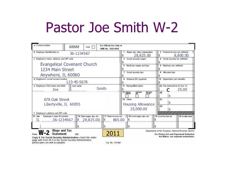 Street smart finances for covenant pastors 2012