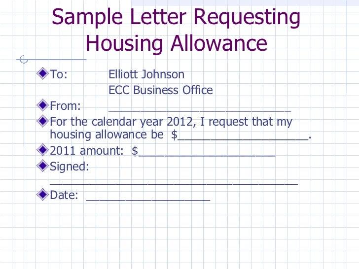 Housing allowance form barearsbackyard housing allowance form spiritdancerdesigns Images