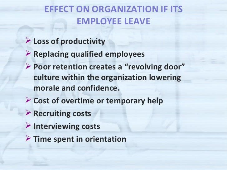 an analysis of the reducement of employee turnover An organization-level analysis of voluntary and involuntary turnover an instance of voluntary turnover, or a quit, re-flects an employee's decision to leave an.