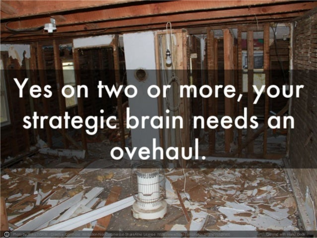 how to become a better strategic thinker