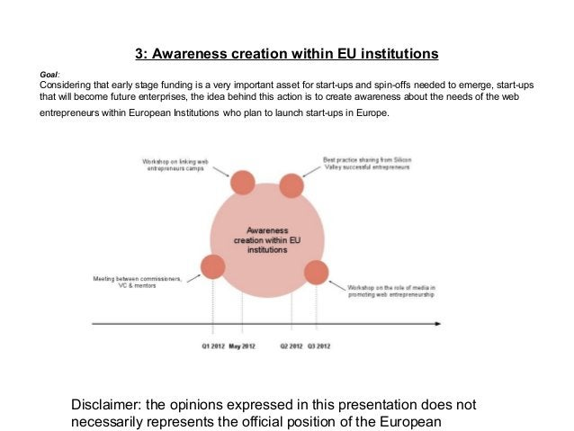 Disclaimer: the opinions expressed in this presentation does not necessarily represents the official position of the Europ...