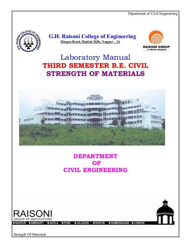 Department of Civil Engineering                        G.H. Raisoni College of Engineering                            Hing...