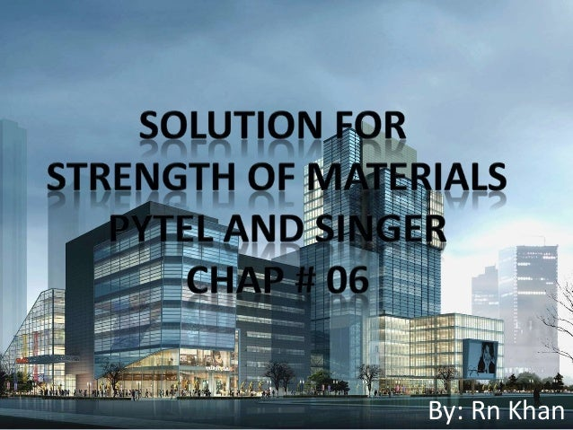 solution manual strength of materials for technicians jg drotsky 3rd edition pdf.zip