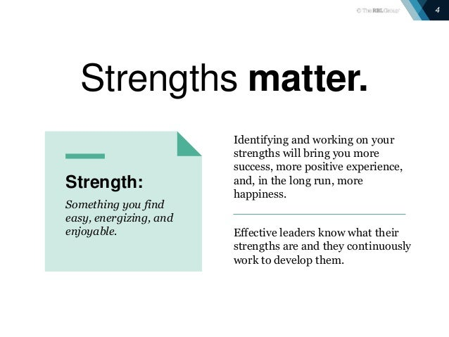 strengths and weaknesses the most of feedback