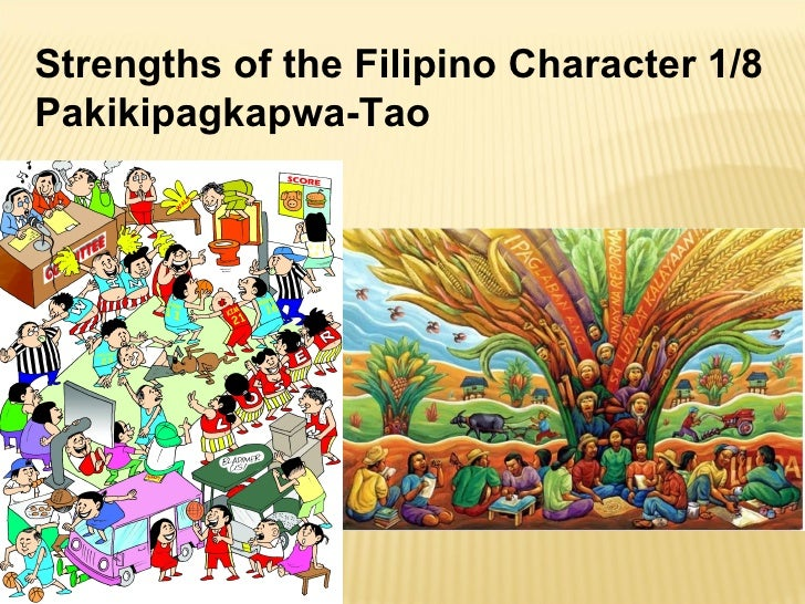 The filipino values and personality