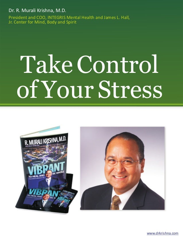 Dr. R. Murali Krishna, M.D. President and COO, INTEGRIS Mental Health and James L. Hall, Jr. Center for Mind, Body and Spi...