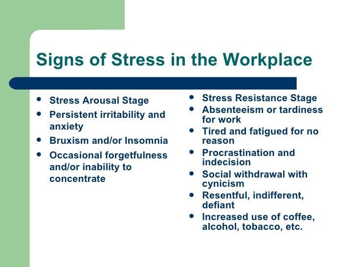 stress presentation