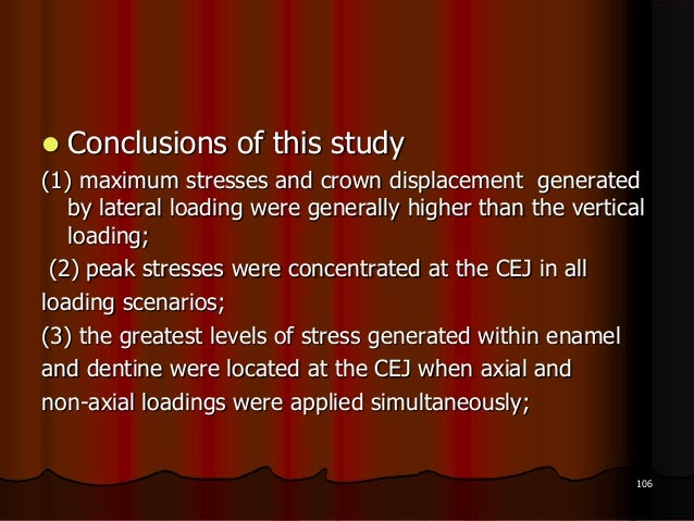  Conclusions of this study(1) maximum stresses and crown displacement generatedby lateral loading were generally higher t...