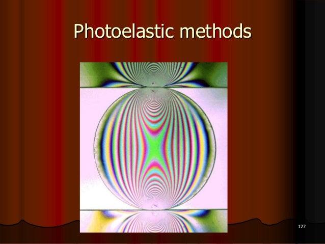 Photoelastic methods127