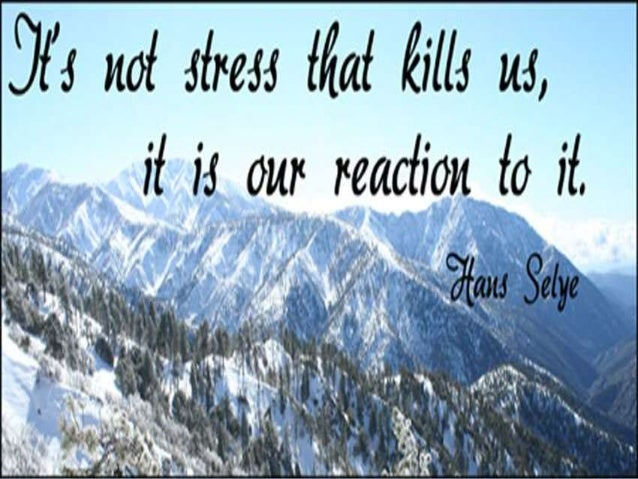 STRESS  Stress is a condition in which the human respond to change in normal balanced state.  Stress is a process of adj...