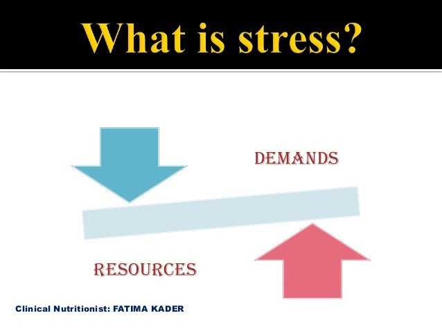 """Stress and Nutrition """"Diet for Stress Management"""" Slide 3"""