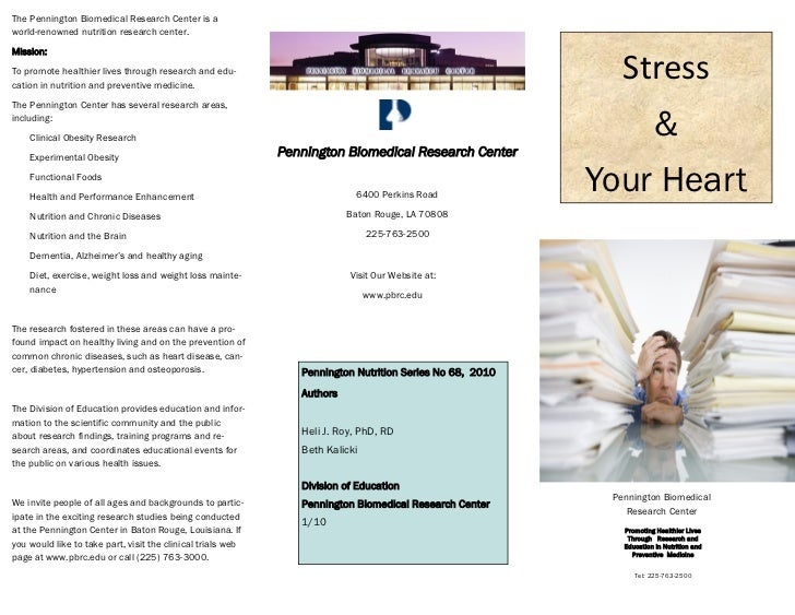 types of stress management pdf